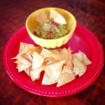Senora V's Super Simple Healthy Guac and Chips