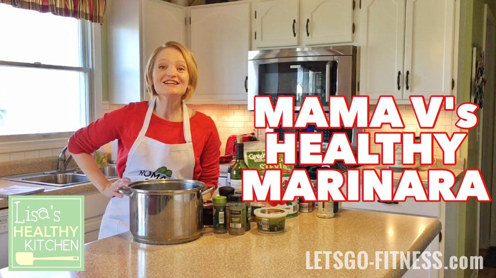 Lisa's Healthy Kitchen: Healthy Marinara the Whole Family Will Love