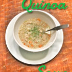 Leftover Turkey Quinoa Soup