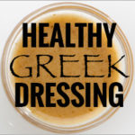 Healthy Greek Dressing