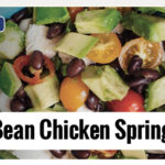 Black Bean Chicken Spring Salad