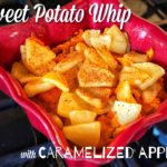 Sweet Potato Whip with Caramelized Apples