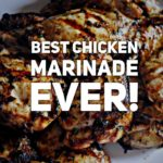 QUICK & HEALTHY CHICKEN MARINADE