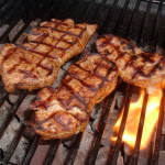 BEST GRILLED PORK CHOPS MARINADE (21 Day Fix Approved)