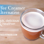 Kick the coffee creamer habit! Try this simple (only 4 ingredients!), yet healthier coffee creamer alternative.