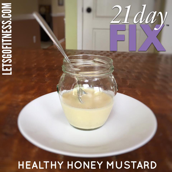 Healthy Honey Mustard Salad Dressing