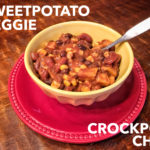 Sweet Potato Veggie Crockpot Chili